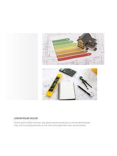 Architecture Vertical Design PPT Background_10