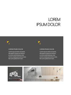 Architecture Vertical Design PPT Background_12