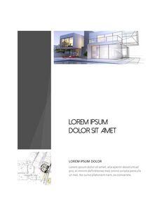 Architecture Vertical Design PPT Background_13