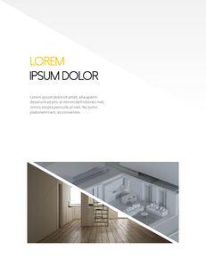 Architecture Vertical Design PPT Background_17