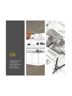 Architecture Vertical Design PPT Background_22