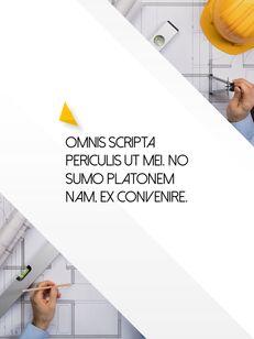 Architecture Vertical Design PPT Background_28
