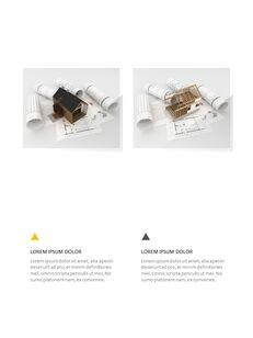 Architecture Vertical Design PPT Background_30