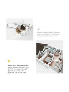 Architecture Vertical Design PPT Background_31