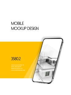 Architecture Vertical Design PPT Background_32