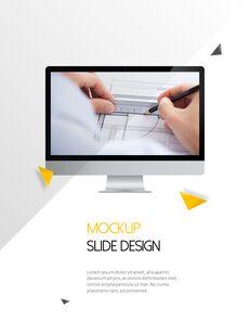 Architecture Vertical Design PPT Background_33