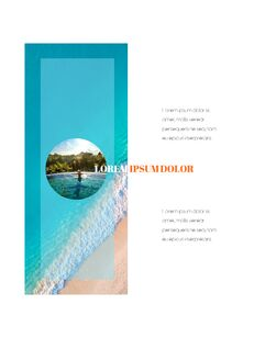 여름 바캉스 세로형 피피티 템플릿 샘플 디자인_11