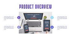 Plantillas sencillas animadas de presentación de lanzamiento de aplicaciones de aerolíneas_08