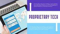 Plantillas sencillas animadas de presentación de lanzamiento de aplicaciones de aerolíneas_11
