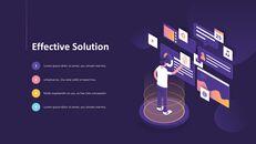 Presentazione animata PPT di progettazione di report aziendali_06
