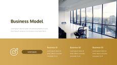 사업 보고서 쉬운 PPT 템플릿 애니메이션 슬라이드_05