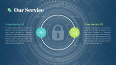 Presentaciones de PowerPoint Presentación de la empresa de seguridad Diapositivas animadas_08
