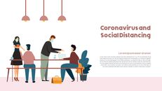 Post-Coronavirus World -  Social Distancing Simple PowerPoint Template Design_04