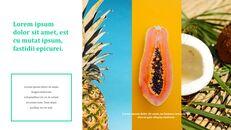 열대 과일 테마 PT 템플릿_09