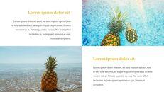 열대 과일 테마 PT 템플릿_18