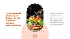 햄버거 창의적인 파워포인트 프레젠테이션_04