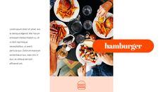 햄버거 창의적인 파워포인트 프레젠테이션_06