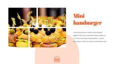 햄버거 창의적인 파워포인트 프레젠테이션_28
