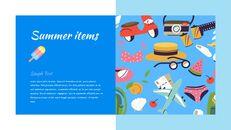 여름 일러스트레이션 프레젠테이션 템플릿_11