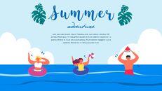 여름 일러스트레이션 프레젠테이션 템플릿_21