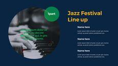 재즈 페스티벌 테마 PT 템플릿_09