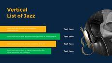 재즈 페스티벌 테마 PT 템플릿_17