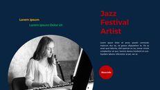 재즈 페스티벌 테마 PT 템플릿_19