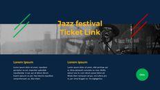 재즈 페스티벌 테마 PT 템플릿_25