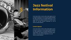 재즈 페스티벌 테마 PT 템플릿_27