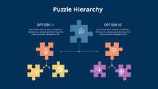 퍼즐 조각 인포 그래픽 다이어그램 애니메이션 슬라이드_04