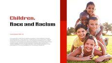인종 차별 반대 심플한 파워포인트 템플릿 디자인_05