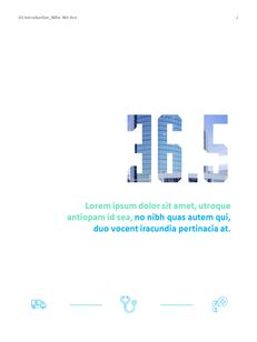 병원 사업 연례 보고서 심플한 Google 프레젠테이션_03