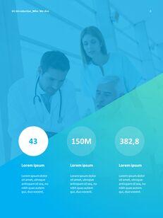 병원 사업 연례 보고서 심플한 Google 프레젠테이션_04