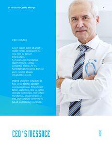 병원 사업 연례 보고서 심플한 Google 프레젠테이션_05
