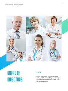 병원 사업 연례 보고서 심플한 Google 프레젠테이션_08