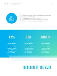 병원 사업 연례 보고서 심플한 Google 프레젠테이션_11