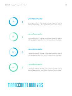 병원 사업 연례 보고서 심플한 Google 프레젠테이션_13