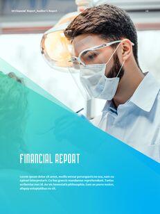 병원 사업 연례 보고서 심플한 Google 프레젠테이션_17