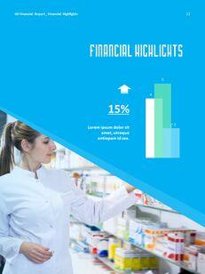 병원 사업 연례 보고서 심플한 Google 프레젠테이션_23