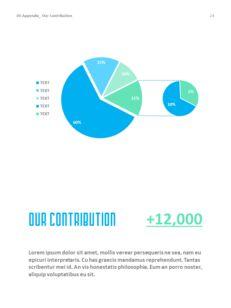 병원 사업 연례 보고서 심플한 Google 프레젠테이션_25