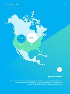 병원 사업 연례 보고서 심플한 Google 프레젠테이션_27