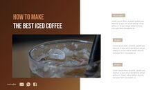 아이스 커피 인터랙티브 파워포인트 예제_06