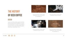아이스 커피 인터랙티브 파워포인트 예제_23