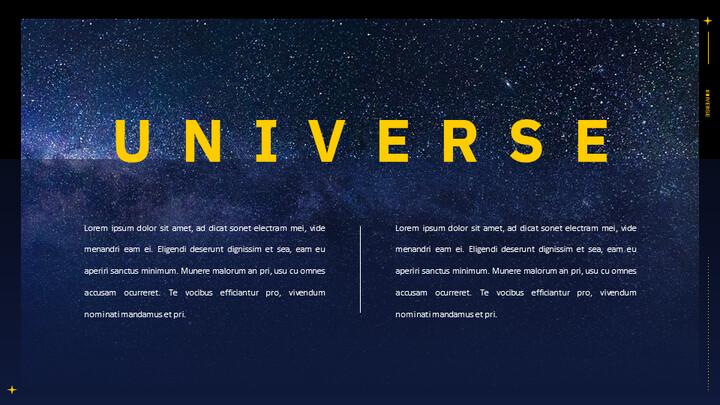 우주 심플한 Google 슬라이드 템플릿_02