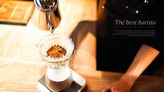 고급 커피 숍 테마 파워포인트_03
