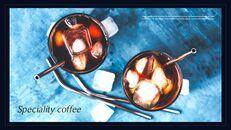 고급 커피 숍 테마 파워포인트_05