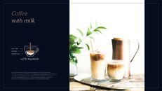 고급 커피 숍 테마 파워포인트_06