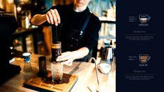 고급 커피 숍 테마 파워포인트_07
