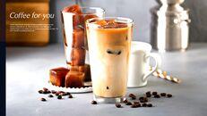 고급 커피 숍 테마 파워포인트_12