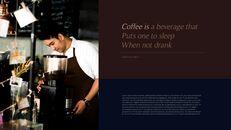 고급 커피 숍 테마 파워포인트_14